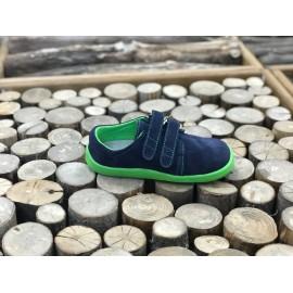 Beda Barefoot nízké W MARCUS - modrozelené