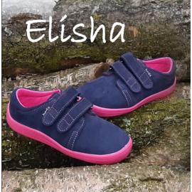Beda Barefoot nízké W ELISHA - modrorůžová 2020