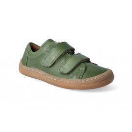 Froddo Barefoot nízké kožené tenisky - Dark Green