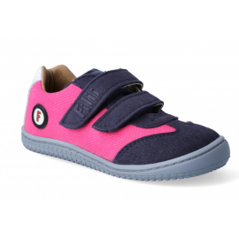 Barefoot tenisky Filii - Leguan vegan pink W