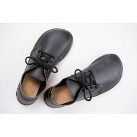 Ahinsa Shoes Bindu 2 - černé hladké