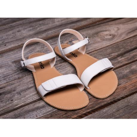 Be Lenka Barefoot Sandály Grace - White