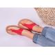 Be Lenka Barefoot sandály Promenade - Red
