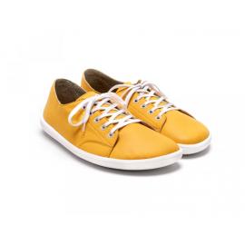 BeLenka Barefoot tenisky Prime - Mustard