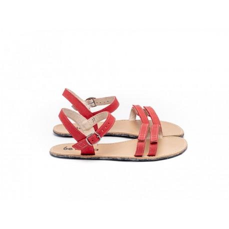 Lenka Barefoot Sandály Summer - Červené