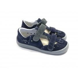 Beda Barefoot sandály - DANIEL modré