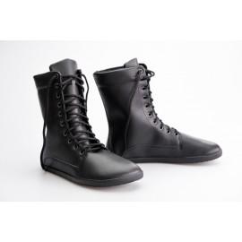 Ahinsa Shoes JAYA Bare - černá