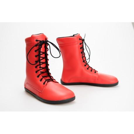 Ahinsa Shoes JAYA Bare - červená