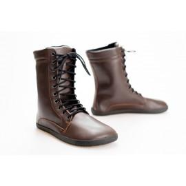 Ahinsa Shoes JAYA Bare - tmavě hnědá
