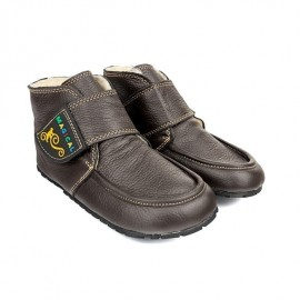 Magical Shoes ZIUZIU - dětské zimní - DARK BROWN