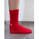 BeLenka ponožky vysoké - red