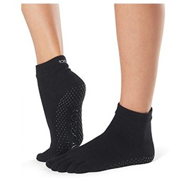 ToeSox Fulltoe Ankle Grip (black)