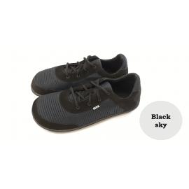 Beda Barefoot textilní tenisky - Black Sky