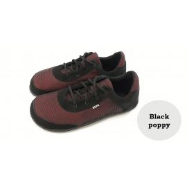 Beda Barefoot textilní tenisky - Black Poppy