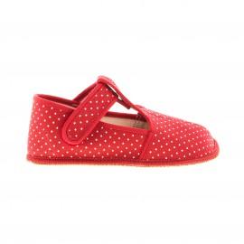 Pathik shoes Papučky pro holky červené
