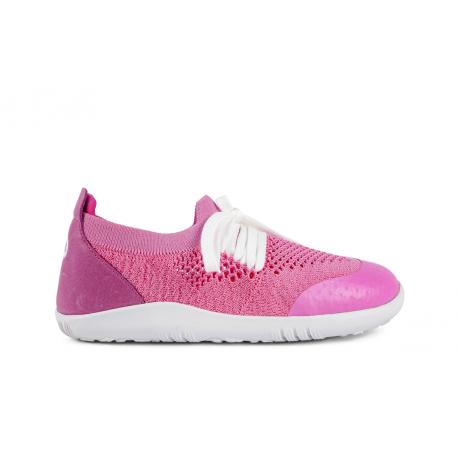 BOBUX I-walk PLAY knit Pink + Raspberry