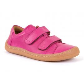 Froddo Barefoot nízké kožené tenisky - Fuchsia