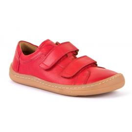 Froddo Barefoot nízké kožené tenisky - Red