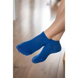 Be Lenka  ponožky krátké - modré