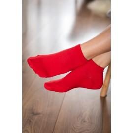 Be Lenka  ponožky krátké - rudé