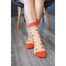 Be Lenka ponožky vysoké -  Včelky