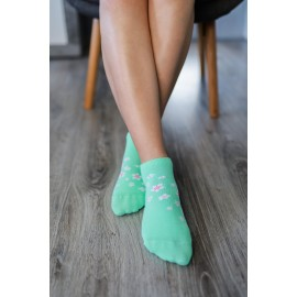 Be Lenka  ponožky krátké - Třešňový květ