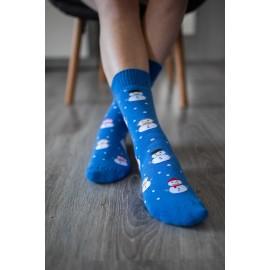 Be Lenka ponožky zimní - Sněhulák