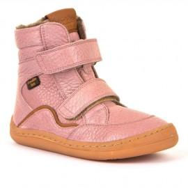 Froddo Zimní růžové - Barefoot tex winter