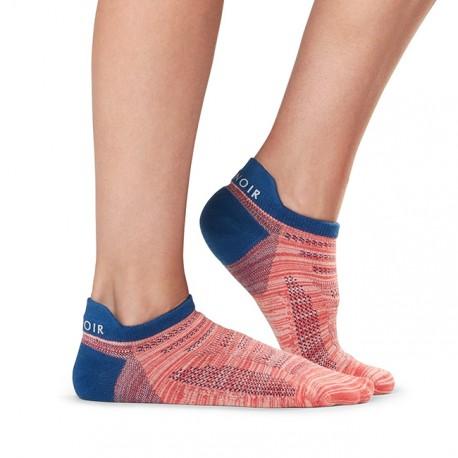 ToeSox Tavi Noir Sport (Ebony) - bezprsté ponožky