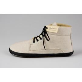 Ahinsa Shoes Sundara - Ahinsa Shoes Sundara - Sunbrella krémová kontíčková