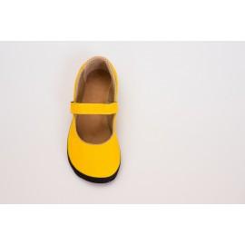Ahinsa Shoes Sundara - Balerínka Sunbrella žlutá