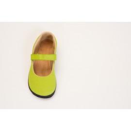 Ahinsa Shoes Sundara - balerínka zelená