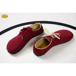 Ahinsa Shoes Sundara - Sunbrella vínová