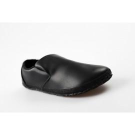 Ahinsa Shoes Sundara - Nazouvací černá společenská
