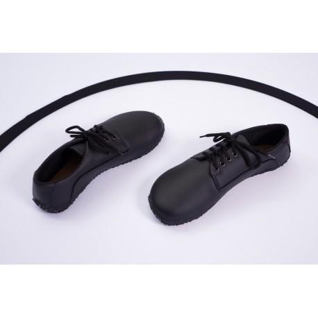 Ahinsa Shoes Sundara - Černá společenská