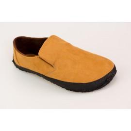 Ahinsa Shoes Sundara - Nazouvací semišová