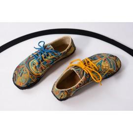 Ahinsa Shoes Sundara - designová duhová