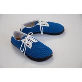 Ahinsa Shoes Sundara - Modrá prodyšná