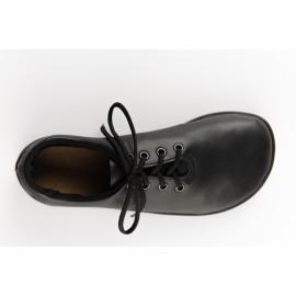 Ahinsa Shoes Ananda - Černá společenská