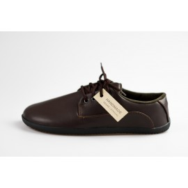 Ahinsa Shoes Sundara - Hnědá společenská lifo+