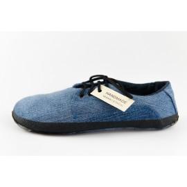 Ahinsa Shoes Sundara - džínová polobotka