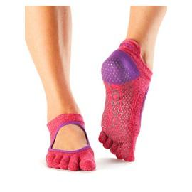 ToeSox Fulltoe Bellarina Grip (Light Purple) - BarefootMánie.cz da3ca3edd0