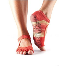 ToeSox Halftoe Bella Grip (Sunrise)