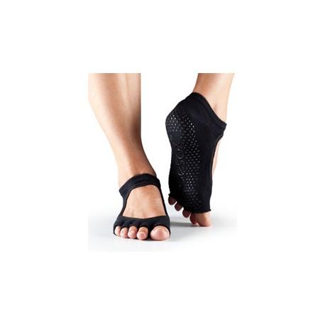 ToeSox Halftoe Bella Grip (Black) - BarefootMánie.cz 630be402b7
