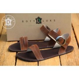 BotyLuks sandály rezavé