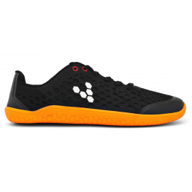 Vivobarefoot STEALTH L BR Black/Orange