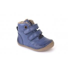 Froddo dětská zimní kotníková WOOL BLUE