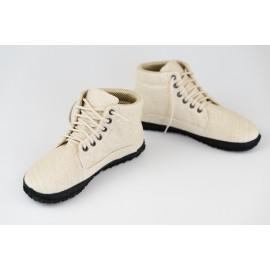 Ahinsa Shoes Sundara - kotníčková konopná