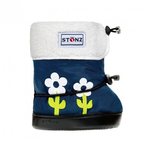 STONZ Booties Toddler Flower Lime