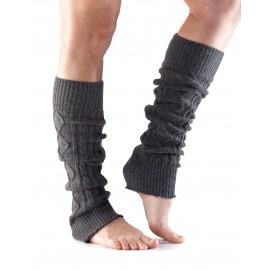 ToeSox Leg Warmers Knee High Grey